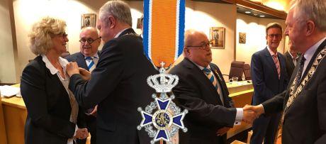 Koninklijke onderscheiding Aly en Gerrit