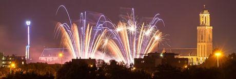 Vuurwerk in Zwolle